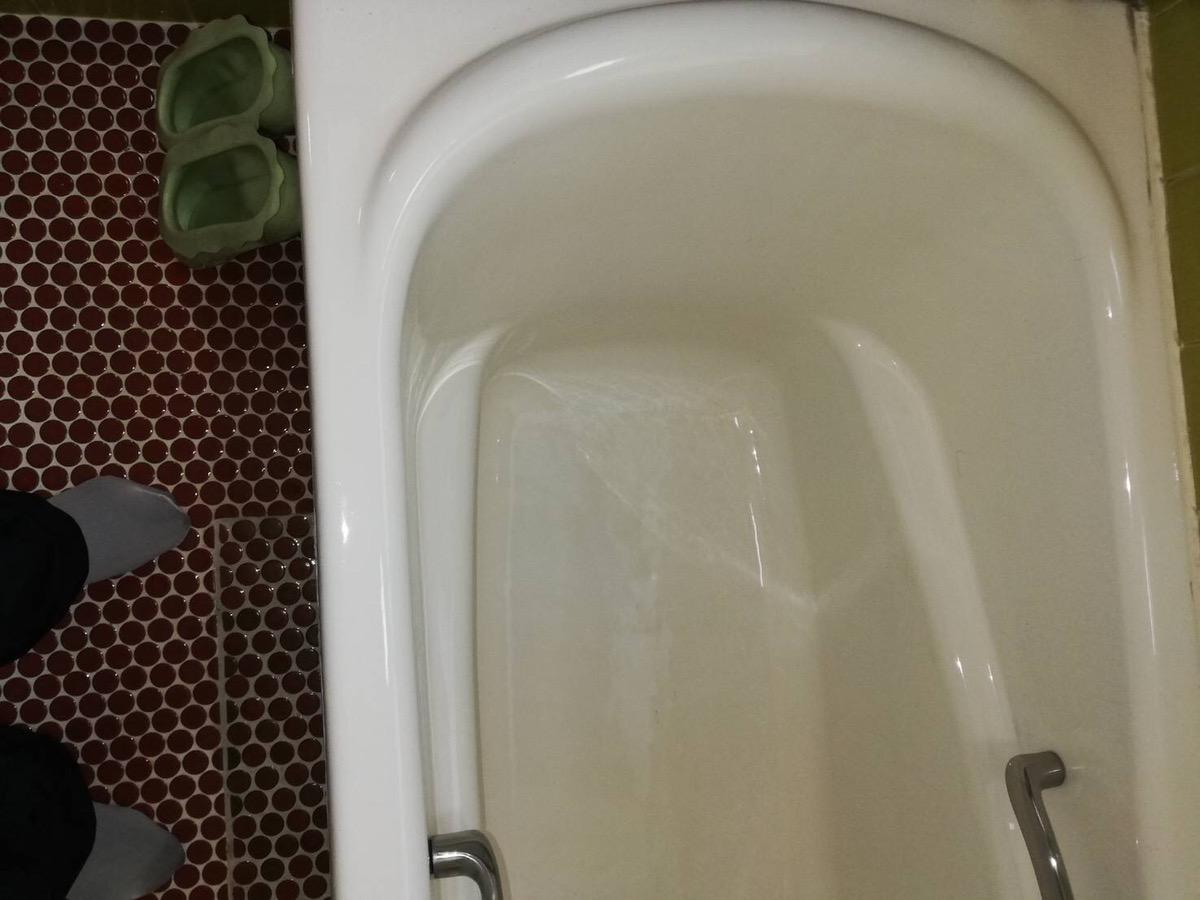 浴槽が汚れすぎてて入れない!なんとかキレイにしたい!After